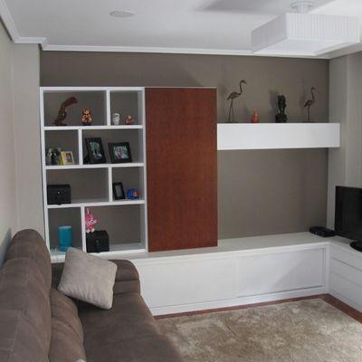 Mueble de salón en L