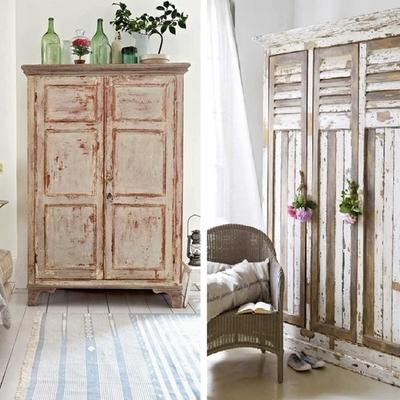 Ideas y fotos de armarios vintage para inspirarte - Muebles vintage malaga ...