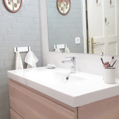 Mueble lavabo dos cajones
