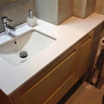 mueble lavabo hecho a medida de Haya