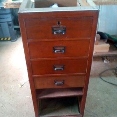 Mueble oficina años 1950