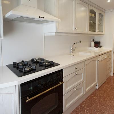 Ideas y fotos de muebles cocina con molduras para - Cera incolora para muebles lacados ...