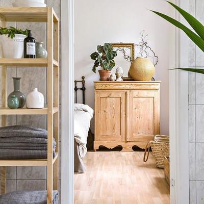 Muebles de madera recuperados