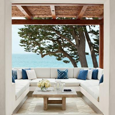 Muebles de obra porche