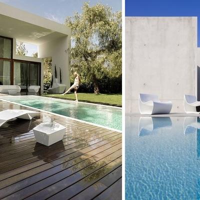 Ideas y fotos de sillas piscina para inspirarte habitissimo - Muebles de piscina ...