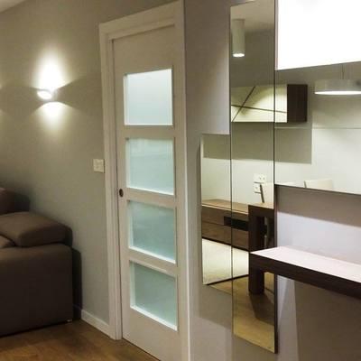 Muebles entrada, acceso cocina y parte salón