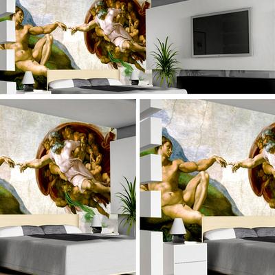 Pintura decorativa mural de salones y habitaciones
