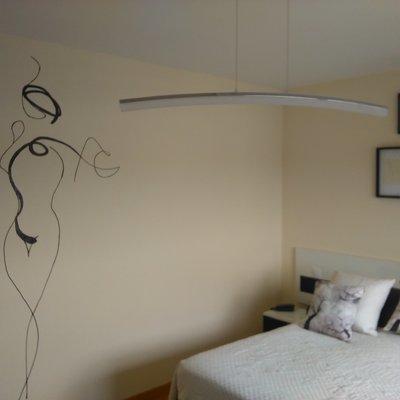 Mural decorativo para dormitorio