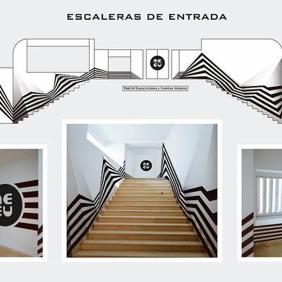 Murales Camuflaje Razzle Dazlle en Madrid