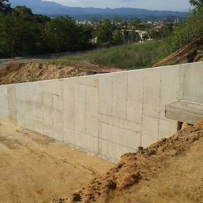 Muro en Girona
