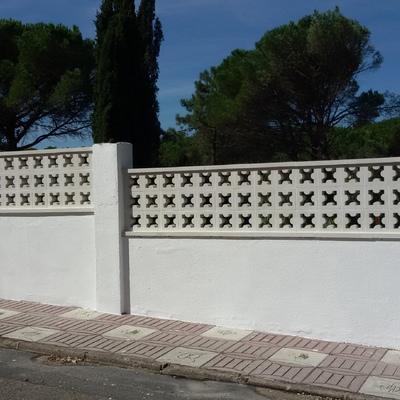 Reforma muro SAS