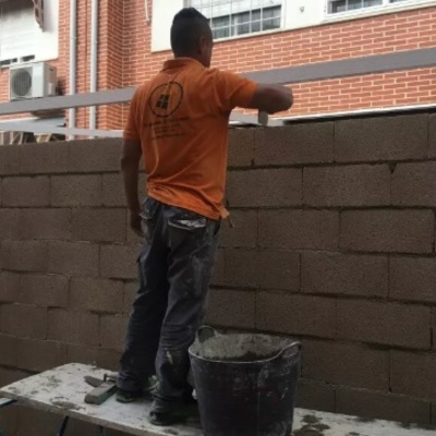 Muro de bloque de hormigon
