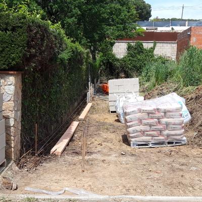 Muros de bloque