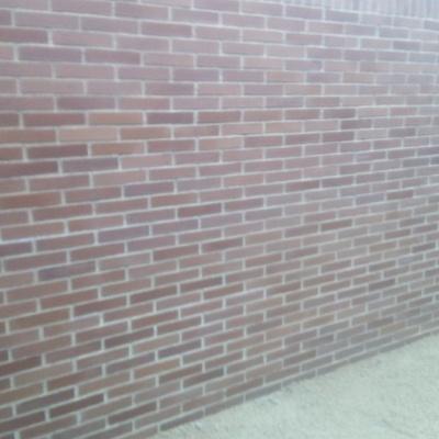 Muro de ladrillo visto