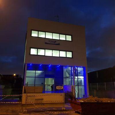 Trabajo de iluminación exterior
