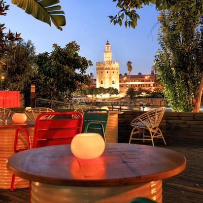 Sevilla en toda su esencia desde esta terraza