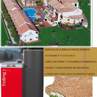 Centralizacion De Acs Con Biomasa En Hotel