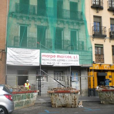 Derribo Edificio Plaza De La Cebada, Nº 4