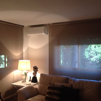 Ideas de poner cortinas para inspirarte habitissimo - Estores polyscreen ...