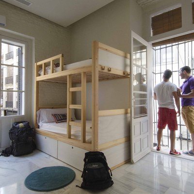 Reforma de inmueble para The Nomad Hostel en Sevilla