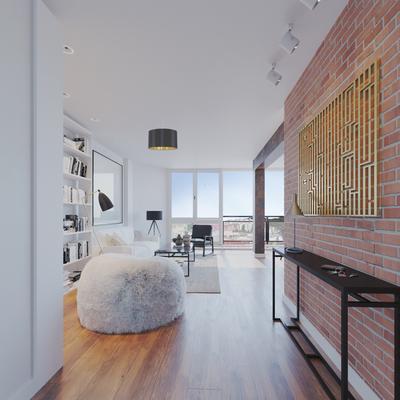 Nueva entrada y salón con vistas panorámicas