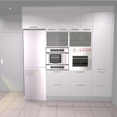 Reforma integral de cocina de un piso de los años 80