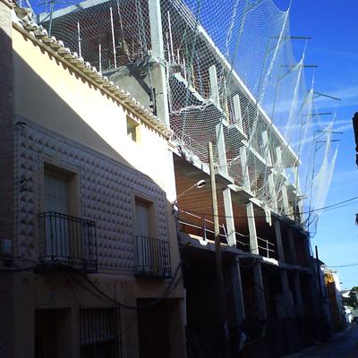 Obra fachada calle Marquina