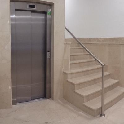 Bajada de ascensor a cota cero en Calle Palleter 10 de Valencia