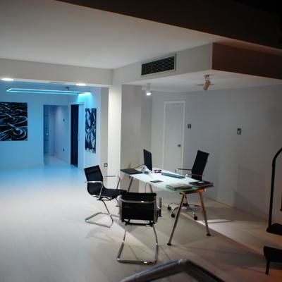 Oficina y muestrario