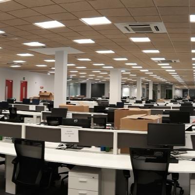 Reforma integral de oficinas. 3200 m2.