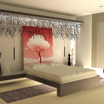 Un cabecero mural para tu dormitorio