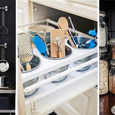Ideas y fotos de muebles auxiliares para inspirarte - Orden en la cocina ...
