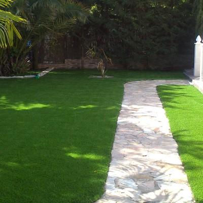 otra imagen del jardin finalizado