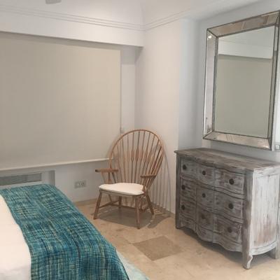 Colorido apartamento en la playa