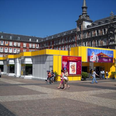 IberStand realiza el montaje de 20 stands en Madrid, dentro de un pabellón modular – IBERHall, para XLVª Feria Nacional del Sello