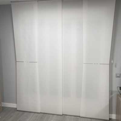 Suministro e instalación de Cortina Técnica en hogar New Collection