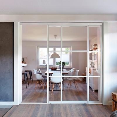 6 maneras de separar el salón y la cocina