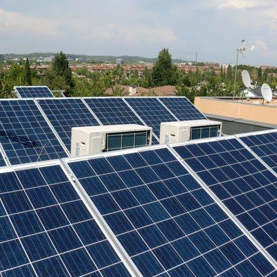 Proyecto para una instalación de paneles fotovoltaicos para vivienda