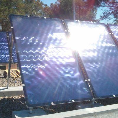Instalación solar para producción de agua caliente y apoyo a la calefacción