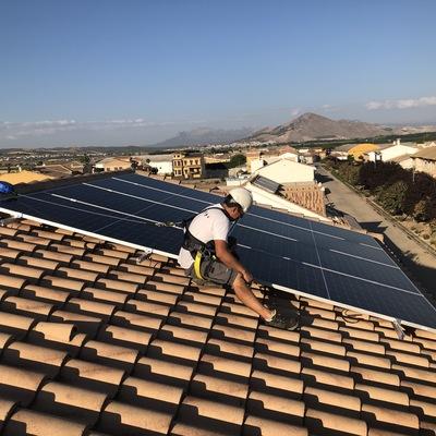 P 7 / Instalación fotovoltaica Valderrubio - Granada