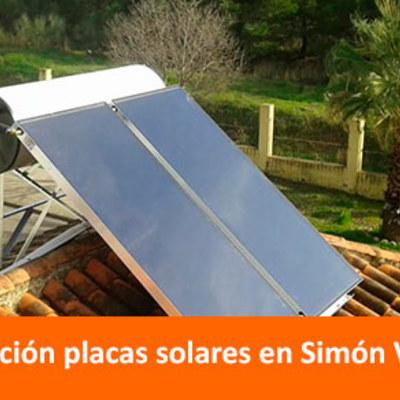 Instalación de paneles solares para la producción de agua caliente