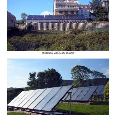 paneles solares para produccion de agua caliente sanitaria