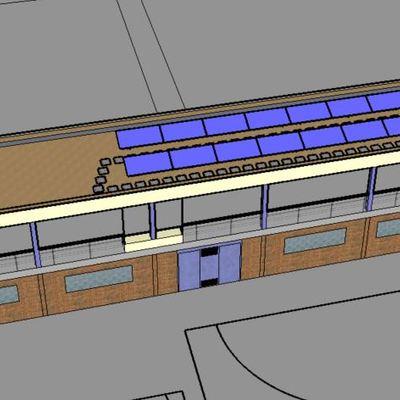 Instalación Fotovoltaica colegio