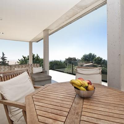 panorámica terraza