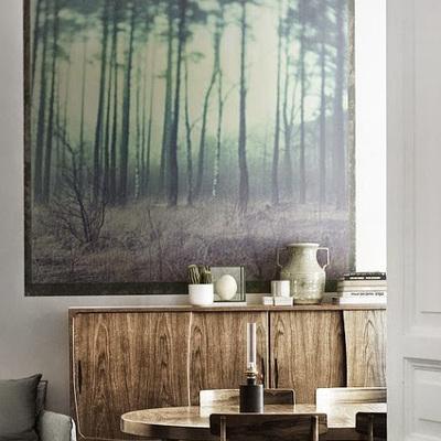 Ideas y fotos de mueble comedor madera para inspirarte for Papel pintado coruna