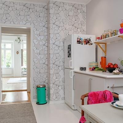 Ideas y fotos de papel pintado cocina para inspirarte habitissimo - Papel pintado en cocina ...