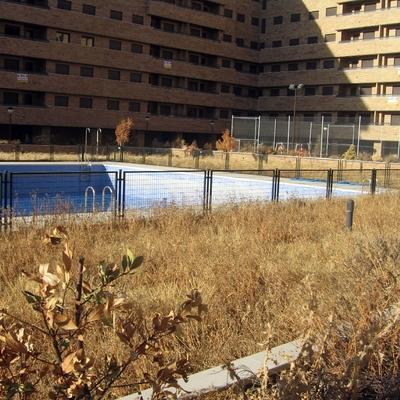 Limpieza de parcela en urbanización privada