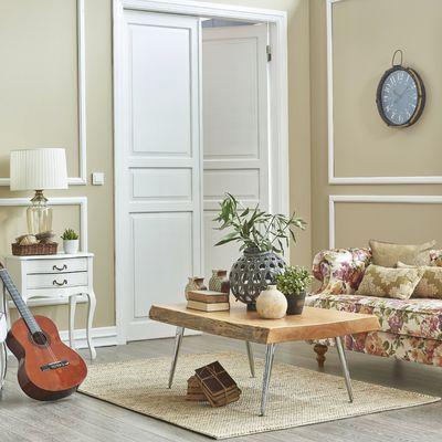 6 revestimientos de paredes para actualizar tu salón
