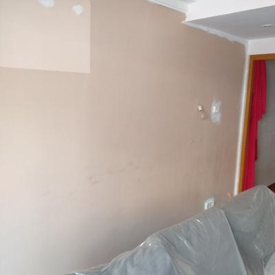 Pintura en salón