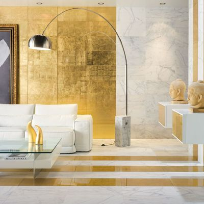Haz que tu hogar brille en tonos dorados
